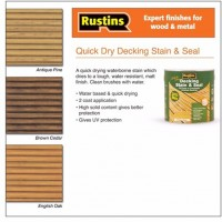 Rustins Decking Stain 2.5L