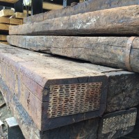 Reclaimed Railway Sleeper 260 x 150mm x 2.6m