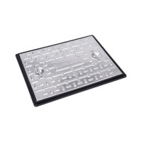 600 x 450mm 5 Tonne Steel Manhole Cover