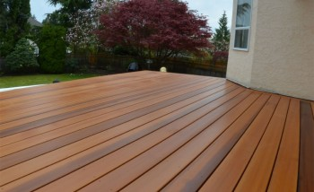 how to clean paint from decking